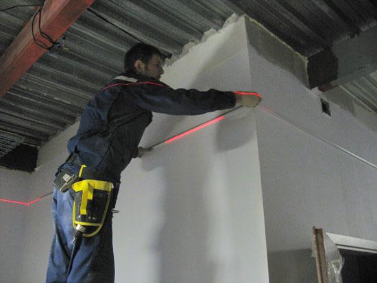 Монтаж растровых подвесных потолков типа - армстронг